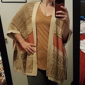Forever 21 Poncho Cardigan